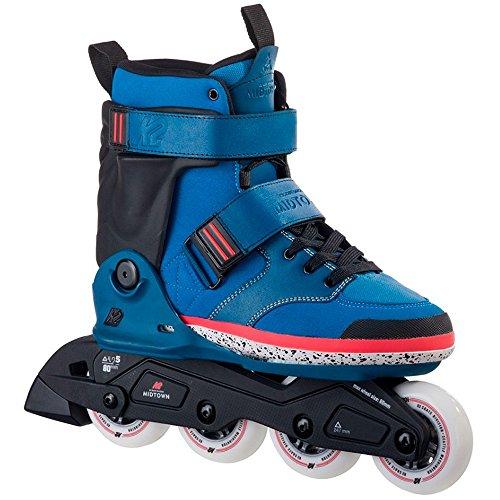 K2 Erwachsene Inline Skates Midtown Blue - Blau - EU: 41.5 (US: 8.5 - UK: 7.5) - 30A0015.1.1.085