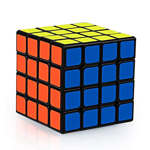 Coolzon Zauberwürfel original Würfel 4x4 4x4x4 Glatt drehbares Puzzle Magic Cube für Kinder