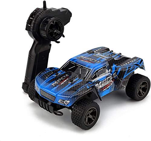 Lotees Control Remoto de Coches de 20 mph/h de 2,4 GHz RC Cars Escala 1:18 Todos los Terrainrc Radio Control Autos fundidos vehículo Todoterreno Coche de Alta Velocidad del Coche de los Muchachos re