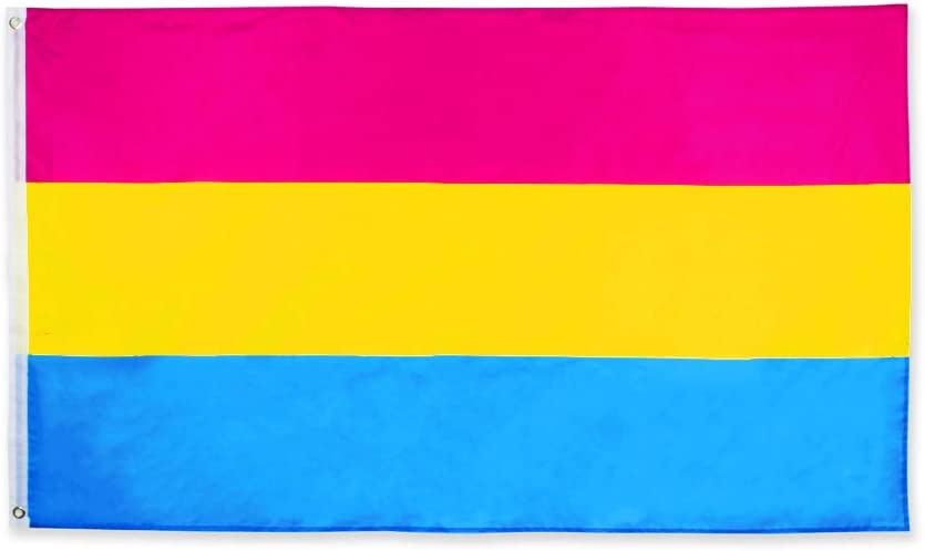 FLAGLINK Pansexual Flag 3x5Fts – Max 84% OFF OFFicial shop Pansexuality Omnisexu LGBT
