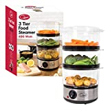 Quest 35220 3 Tier Food Steamer / 7.2...
