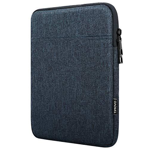 TiMOVO 9-11 Zoll Hülle Kompatibel mit 2020 iPad Air 4 10.9, iPad Pro 11 2018-2021 iPad 10.2, Galaxy Tab A7 10.4 2020, S6 Lite 2020, Surface Go 2/1 Schutzhülle Geeignet Smart Keyboard, Space Grau