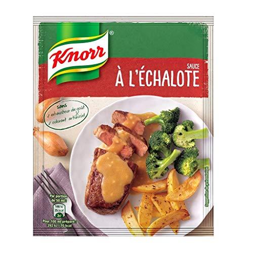 Knorr Pack Knorr Sauce bei Lâ € ™ Ã ‰ Schalotten 33G (6er-Pack)