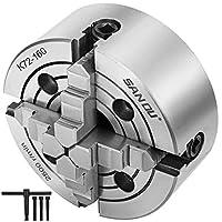 """ハードウェア用品アクセサリ160mm(6"""")4ジョーメタル旋盤チャック独立ジョー+チャックキー"""