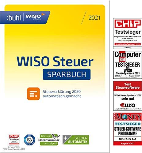 WISO Steuer-Sparbuch 2021 (für Steuerjahr 2020 | PC Aktivierungscode per Email)