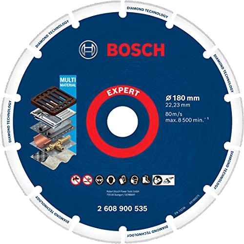 Bosch Professional 1 x Discos de corte Expert Diamond Metal Wheel, para Hierro fundido, 180 mm, Accesorios Amoladora grande