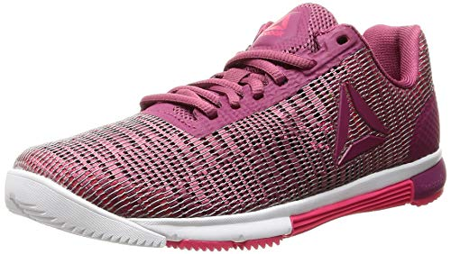 Reebok Speed TR FLEXWEAVE, Zapatillas de Deporte Mujer, Multicolor (Twisted Berry/Twisted Pink/White 000), 40 EU