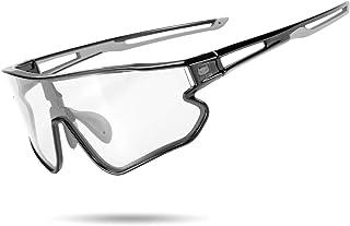 Photochromic Sunglasses for Men Women Bike Glasses 100% UV Protection