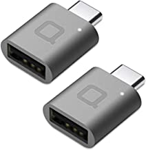 nonda USB Type C to USB 3.0 Adapter(2 Pack), Thunderbolt 3 to USB Adapter for MacBook Pro 2019/2018, MacBook Air 2018, Pixel 3, Dell XPS, and More Type-C Devices (Space Grey)