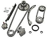 240sx ka24de timing chain kit - ITM Engine Components 053-94200 Timing Chain Set for 1991-1998 Nissan 240SX 2.4L L4 KA24DE