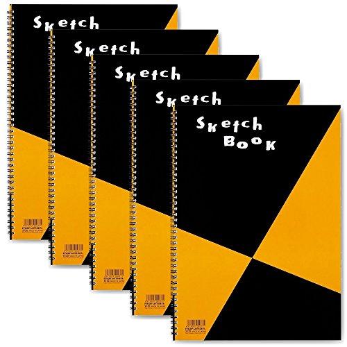 マルマン スケッチブック 図案シリーズ B4 画用紙 5冊 S120x5 SET