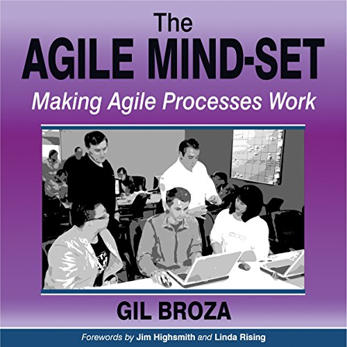 The Agile Mind-Set Audiobook By Gil Broza cover art