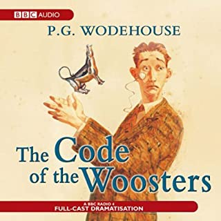 The Code of the Woosters (Dramatised) audiobook cover art