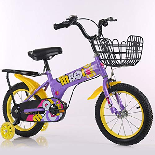 LDDLDG - Bicicleta infantil de 12 a 16 pulgadas, con ruedas de...