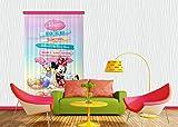 Diseño AG FCC L 4107 Cortina/Cortinas Decorativo Disney Mickey Mouse