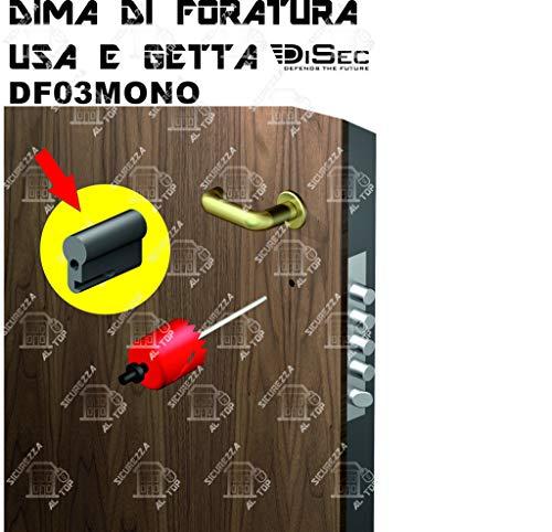 Diámetro de perforación Defender monouso -DF03MONO-N-DISEC