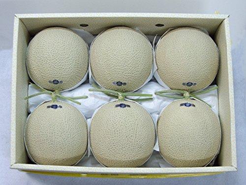 フルーツなかやま 静岡産 高級マスクメロン【クラウン】6個入 重さ9K 1個1.5K 糖度11度以上