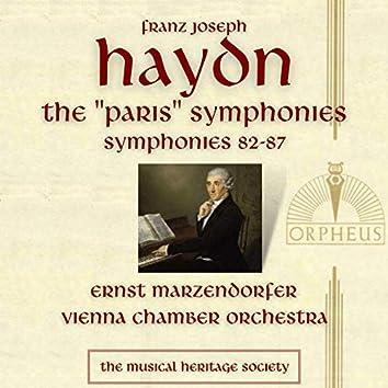 "Haydn: Symphonies 82-87 - The ""Paris"" Symphonies"