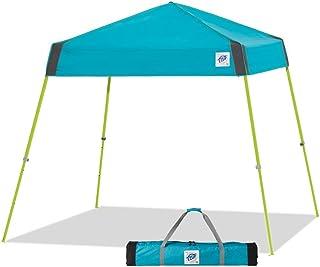 E-Z UP(イージーアップ) ビスタスポーツ ワンタッチ タープテント アウトドア 組立て簡単 2.5m×2.5m イベント 運動会 バーベキュー キャンプ UVカット 天幕着脱不要 スチールフレーム 5段階調節 キャリーバッグ付き