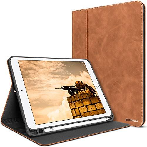 iPad Mini Case for iPad Mini 5 2019/iPad Mini 4 2015 7.9 inch with Pencil Holder - Minimalist PU Leather fold Folio Smart Cover Auto Sleep/Wake