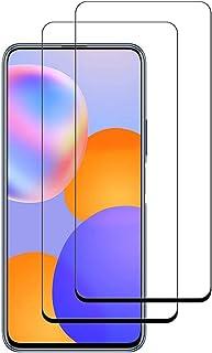 واقي شاشة لاصق من الزجاج المقسى بدرجة صلابة 9 دي لهاتف هواوي واي 9 ايه - قطعتين