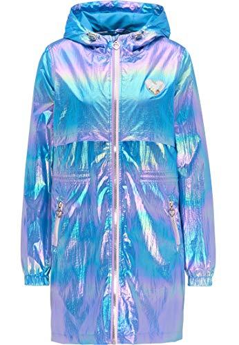 myMo Holographic Parka Damen 12305787 blau holografisch, S