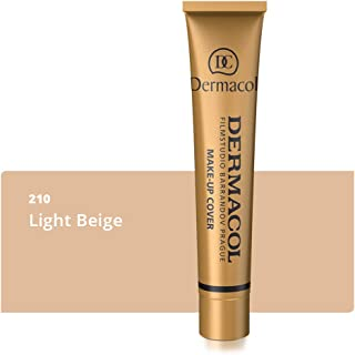 Dermacol Make-up Cover - Waterproof Hypoallergenic Foundation 30g 100% Original Guaranteed from Authorized Stockists Shade 210