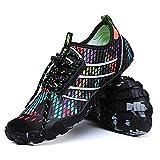 bridawn Water Shoes Men Women Beach Sports Shoes Quick Dry Swim Shoes Aqua Shoes Barefoot Shoes for Surf Hiking Climbing