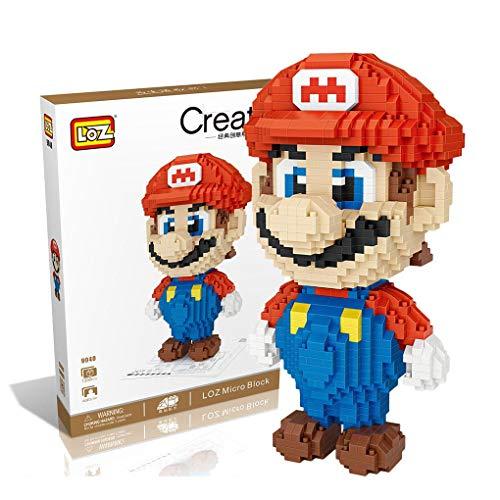 Outletdelocio. LOZ 9040. Kit de construccion miniaturizada. Super Mario. 1350 Piezas