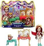 Enchantimals- Royal Fabrina Fox y Frisk, Multicolor (Mattel GYJ05)