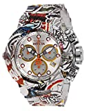 Invicta Men's Subaqua Quartz Watch with Stainless Steel Strap, Multi-Color, 28 (Model: 32103)
