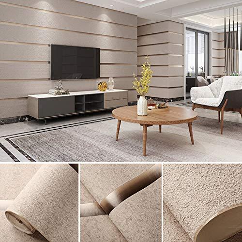 3D Tapete-Stereo Deer Leder Leder Vliesstoff-Vliesstoffe Tapete Wohnzimmer Schlafzimmer Küche Tv Hintergrund Wand Hotel Tapete 53Cm X 10M/Roll C