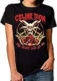 Celine Dion Death T-shirt en métal avec inscription « My Heart Will Go On » - - X-Small