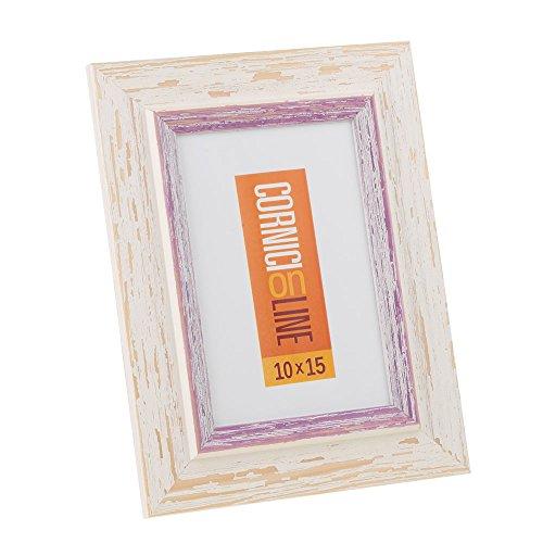 Cornice in legno 246 Lilla Portafoto da Tavolo 13x18