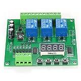 Cestbon Programmabile Modulo 3 Canale LED relè Driver DC / AC7V ~ 36V Motor Controller Compatibile con Arduino Lampone Pi¡,Verde