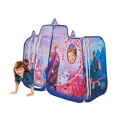 Kids Pop Up Tent - Frozen 2 Children's Playtent Playhouse for Indoor Outdoor, Great for Pretend Play in Bedroom Or Park! for Boys Girls Kids Infants & Baby