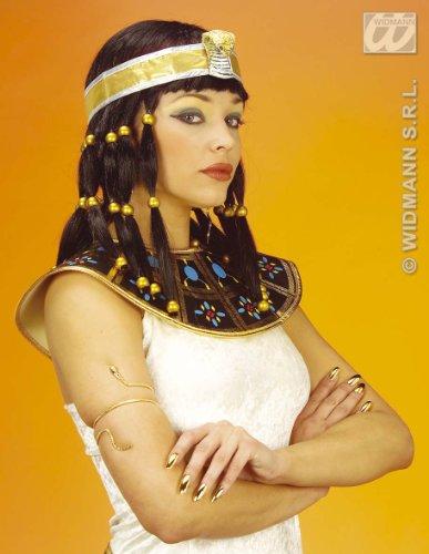 Kleopatra goldfarbender Schlangen Armreif