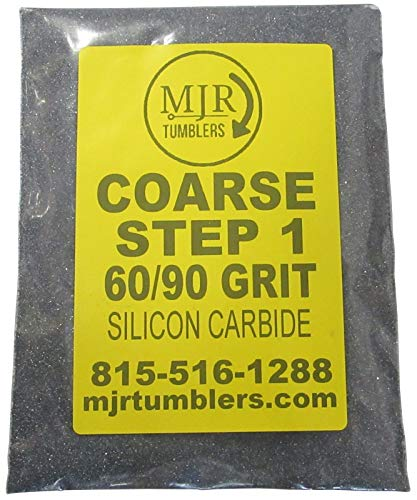 MJR Tumblers 5 LB per Polish 60 90 Silicon Carbide Rock Refill Grit Abrasive Media Step 1 USA