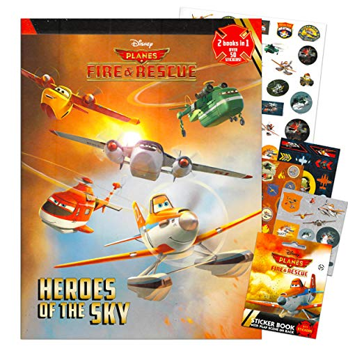 Fire Rescue Disney Planes Coloring and Activity Book Set for Kids Toddlers Party...