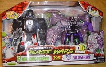 Transformers Hasbro Beast Wars 10th Anniversary Exclusive Optimus Primal Vs. Megatron