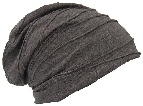Cool4 Vintage wintervouwen structuur fleece beanie antraciet donkergrijs muts VWB06