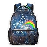 Yangjio Childrens School Backpacks Rainbow Bookbag Daypacks for Women Kids Casual Multipurpose Daypacks for Travel