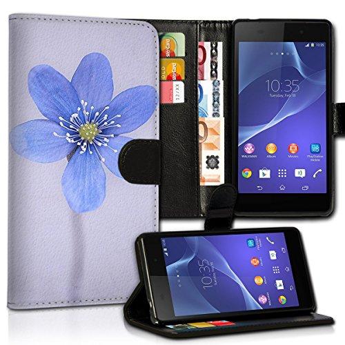 wicostar Book Style Huawei Ascend G525 Premium PU-Leder Tasche Flip Brieftasche Handy Hülle Kartenfächer mit Standfunktion für Huawei Ascend G525 - Design Flip MVC99