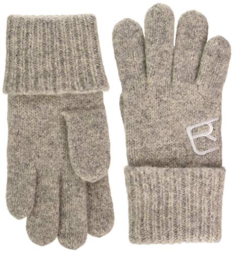 ORTOVOX Unisex-Adult Swisswool Classic Glove Liners, Grey Blend, L