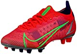 Nike Vapor 14 Elite AG, Scarpe da Calcio Unisex-Adulto, BRT Crimson/Mtlc Silver-Indigo Burst-White-Rage Green, 42 EU