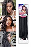 18 (45cm) 100 Grams Synthetic Crochet Braiding Hair HAVANA MAMBO FAUX LOCS (1#) by becret