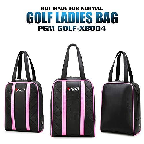 PGM Sac à Chaussures de Golf pour Femme en Cuir PU...