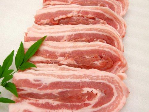 銘柄豚 米沢豚 一番育ち 豚バラお好み焼き用 2Kg