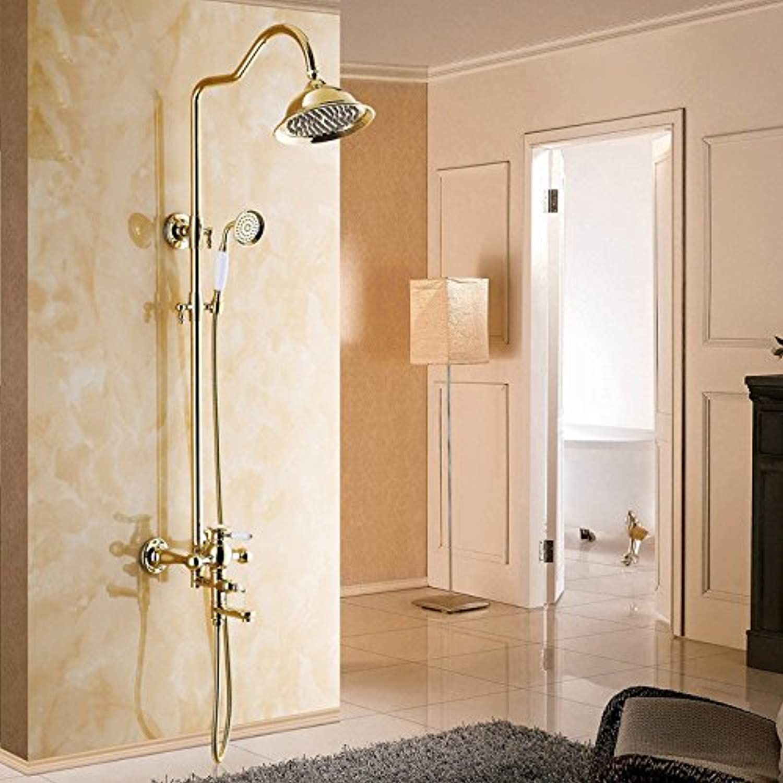 MMYNL Badarmaturen thermostatische Dusche Set Badewanne & Dusche Systeme Kupfer Dusche Dusche Dusche Armaturen der Sprinkleranlage