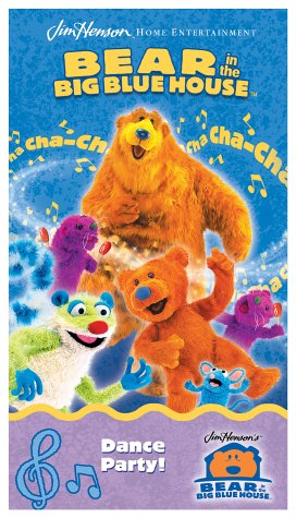 Bear in the Big Blue House - Dance Party [VHS]